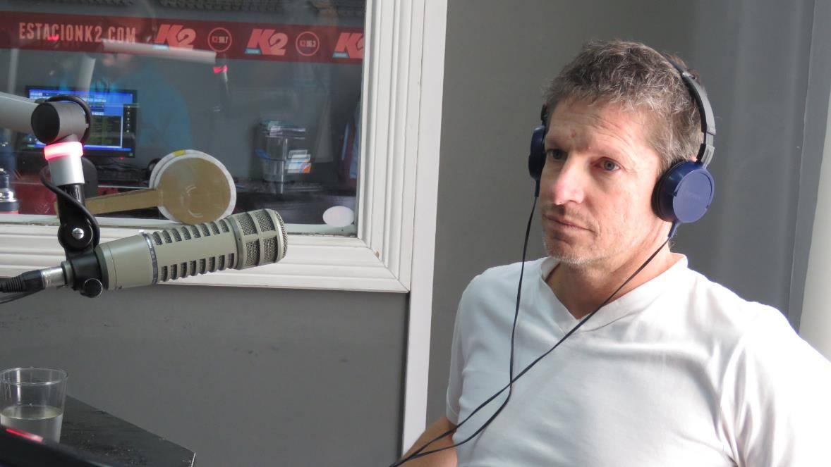 Nicolás Salguero presentó el circuito de la maratón de Actitud Solidaria 2016