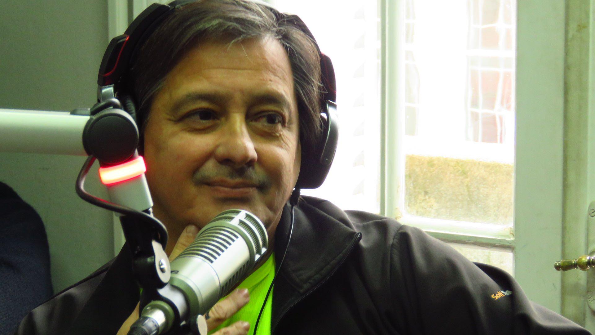 Mario «Pancho» Echavarría anticipó la largada de la maratón de Actitud Solidaria
