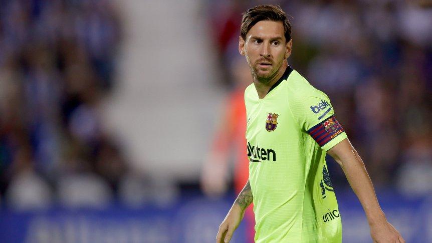 Messi cumplió 700 partidos con la camiseta de Barcelona