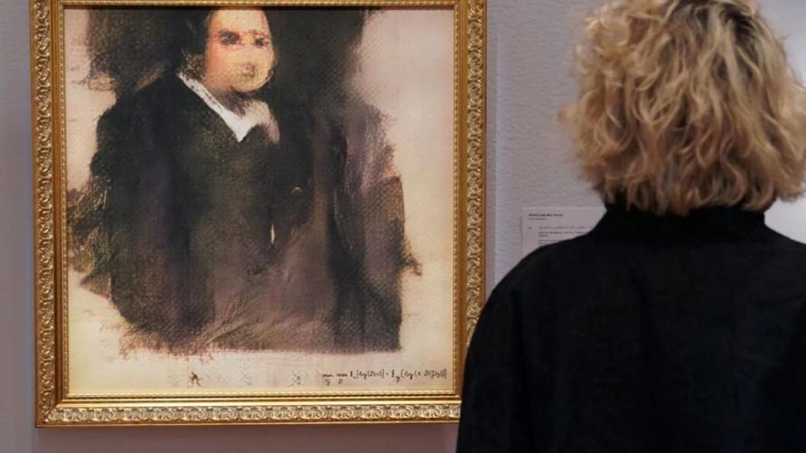 Pagan más de 400 mil dólares por el primer retrato realizado con inteligencia artificial