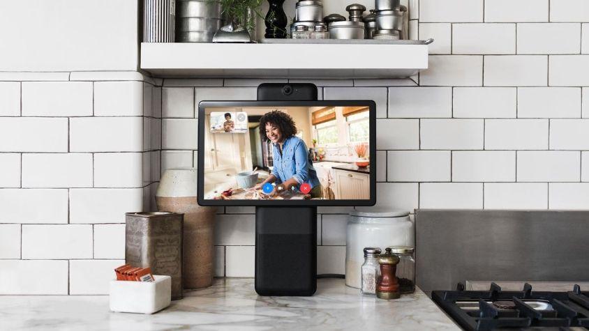 Facebook anunció un dispositivo para videollamadas