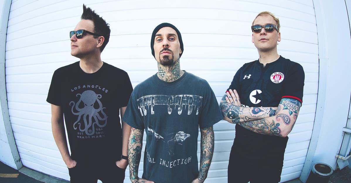 Fans de blink-182 se pelean por la pronunciación del nombre de la banda