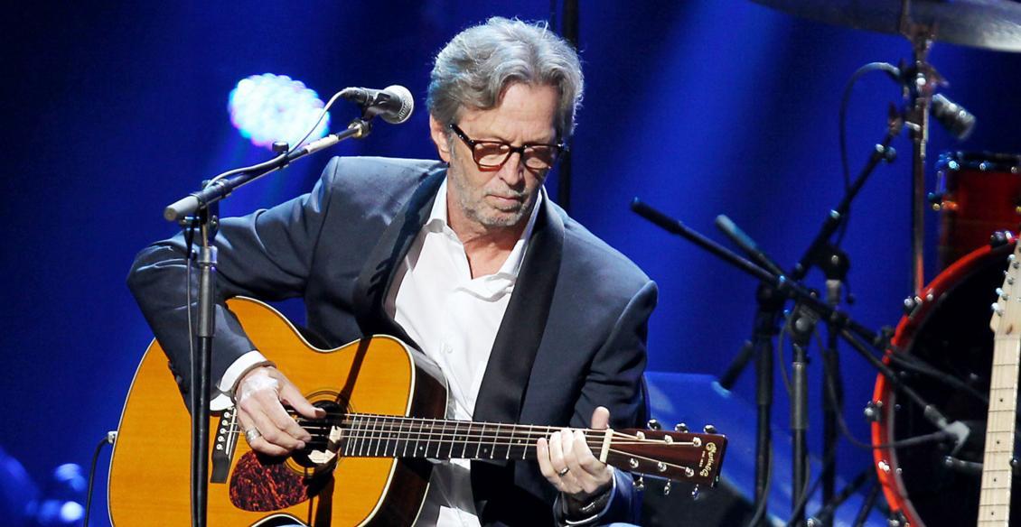 Eric Clapton se inspiró en Bob Dylan para crear la portada de su álbum navideño