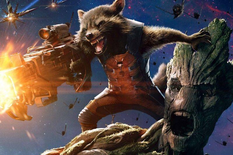 Groot y Rocket preparan su propia serie
