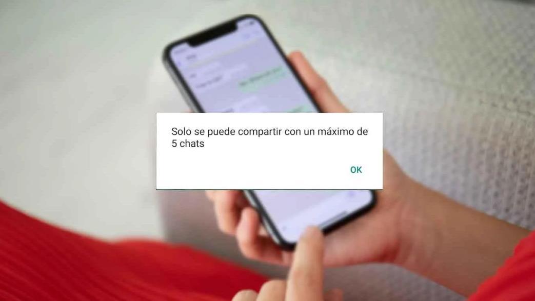 WhatsApp limita el reenvío de mensajes a un máximo de cinco chats