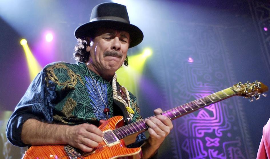 Carlos Santana dará un curso de guitarra online