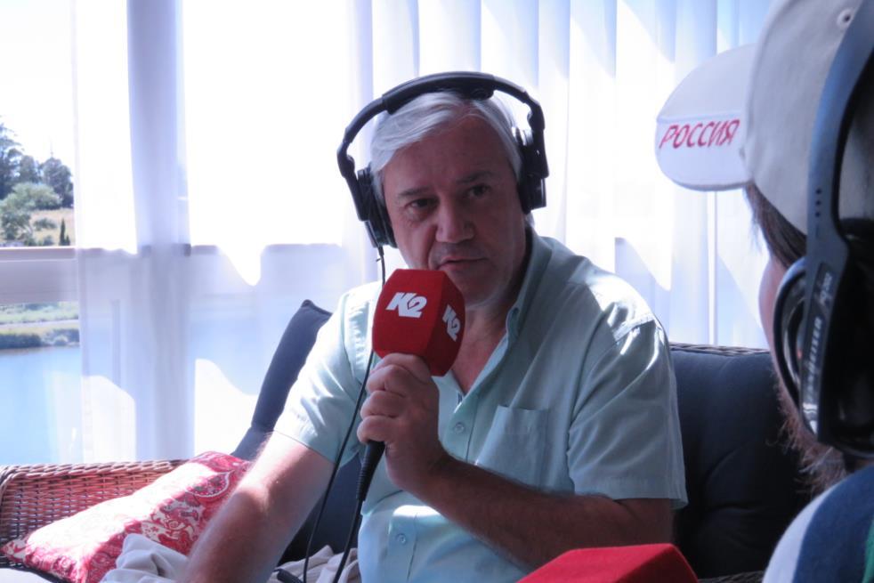 Alejandro Fabbri pasó por Segundos Afuera