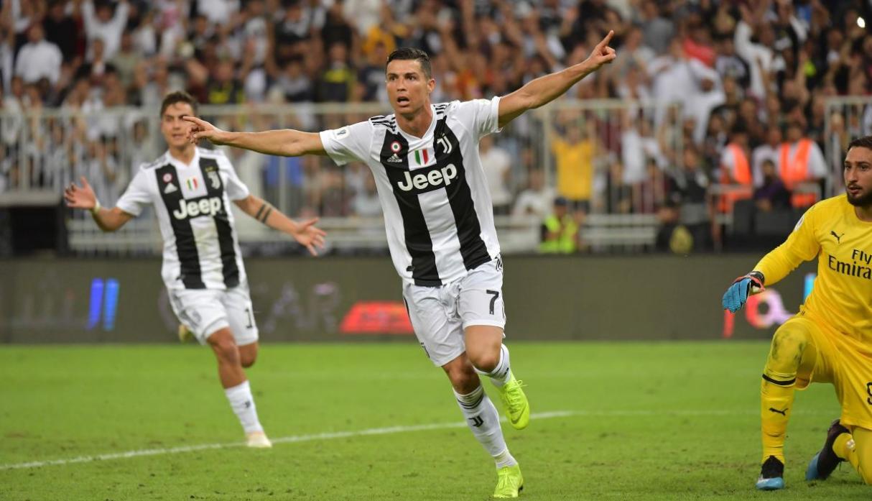 Cristiano Ronaldo ganó su primer título en Italia