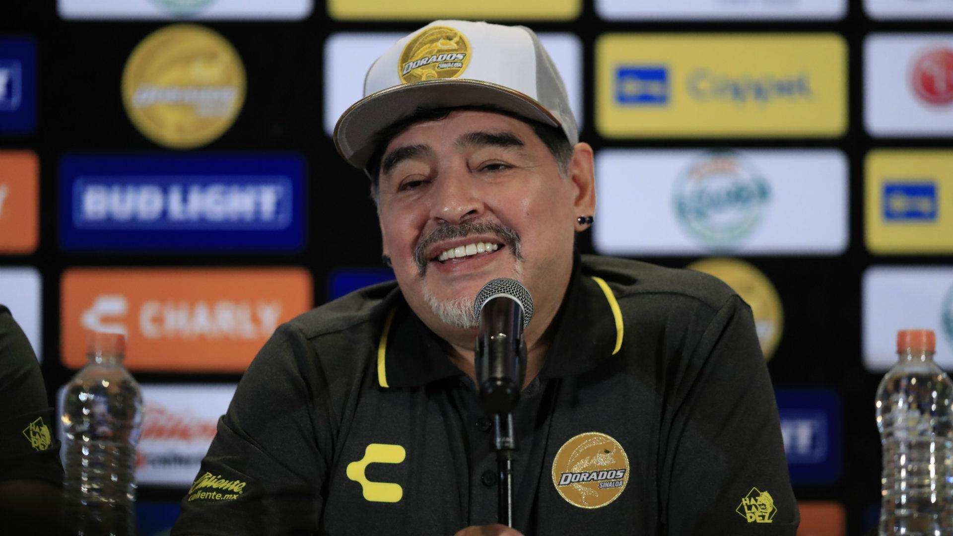 Diego Maradona se queda en Dorados