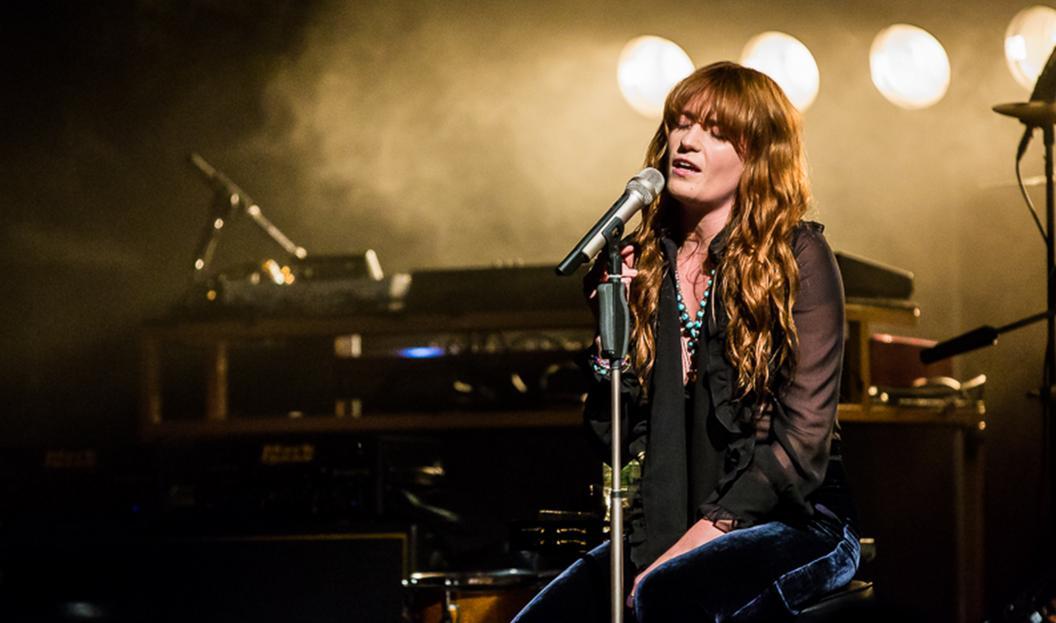 Florence + The Machine estrenó nuevo tema en vivo