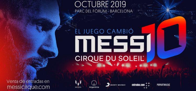 El show del Cirque du Soleil sobre Lionel Messi ya tiene fecha y lugar