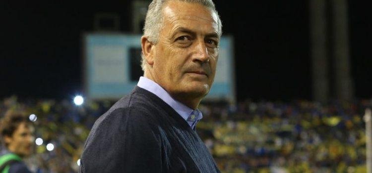 Gustavo Alfaro se mostró tranquilo tras la derrota