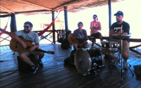 Los Borbotones anticiparon su show en La Sardiñola