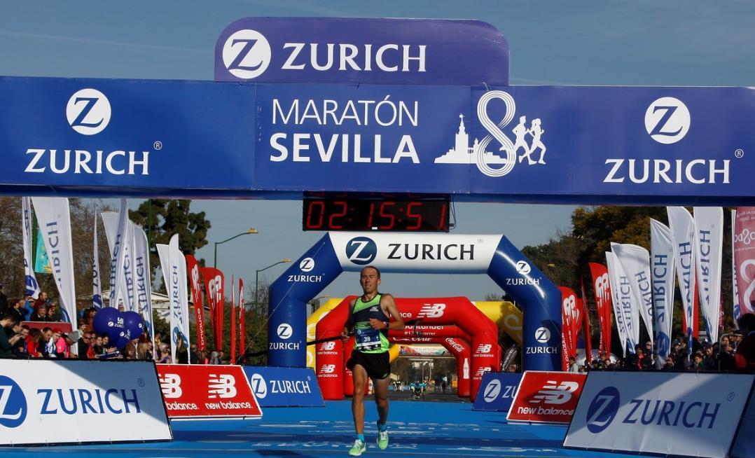 """Mariano Mastromarino tras la maratón de Sevilla: """"Fue una marca muy jugada la que hicimos"""""""