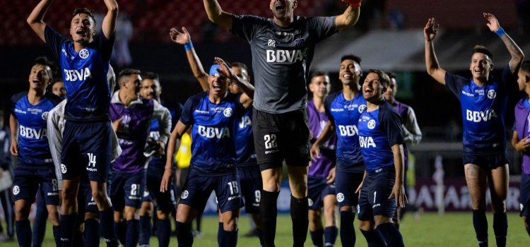 Talleres empató en Brasil y eliminó al San Pablo de la Libertadores