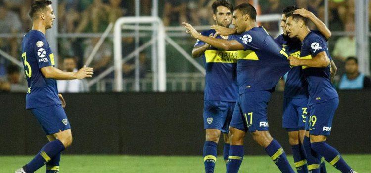 Boca goleó a San Martín de San Juan