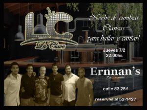 Noche De Cumbias Clasicas @ Ernnan's