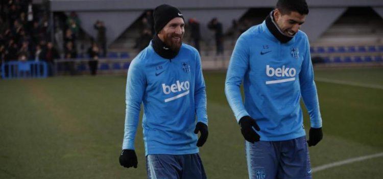 Con Messi en el banco, el Barça recibe al Madrid