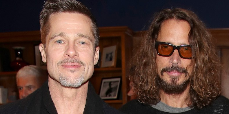 Brad Pitt producirá un documental sobre Chris Cornell