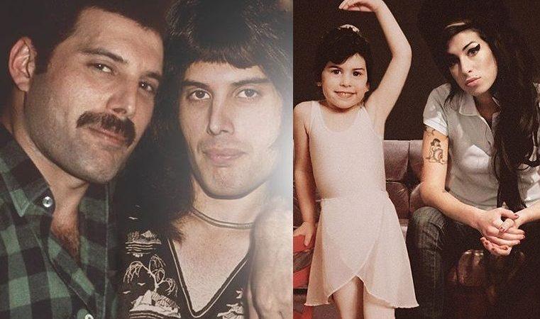 El increíble antes y después de ocho artistas que todos amamos