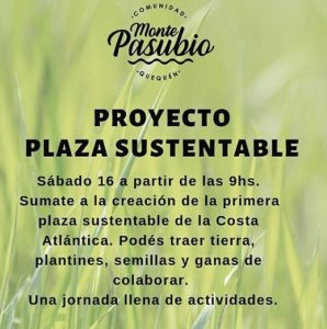 Proyecto Plaza Sustentable @ Monte Pasubio