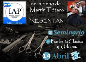 1º Seminario Intensivo de Barberia @ IAP Necochea