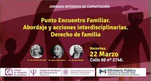Capacitación Punto Encuentro Familiar @ Colegio de Psicólogos Necochea