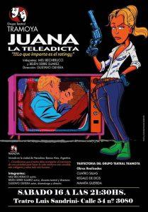 Juana, la Teleadicta @ Teatro Municipal Luis Sandrini