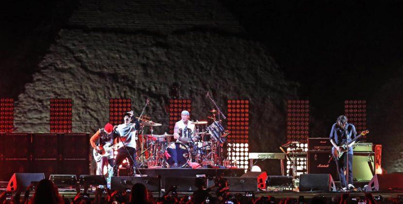 Así fue el show de Red Hot Chili Peppers en las pirámides