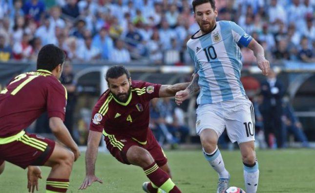 Así está el historial entre Argentina y Venezuela