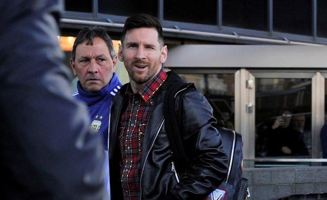 Después de ocho meses, Messi se integró a la Selección