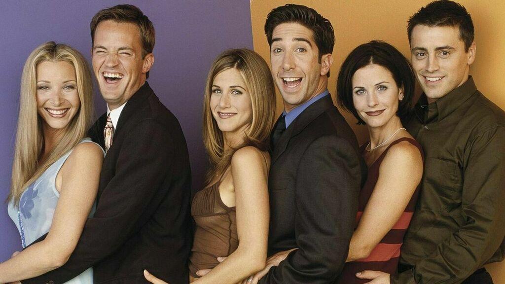 Friends fue elegida como la mejor serie de la historia