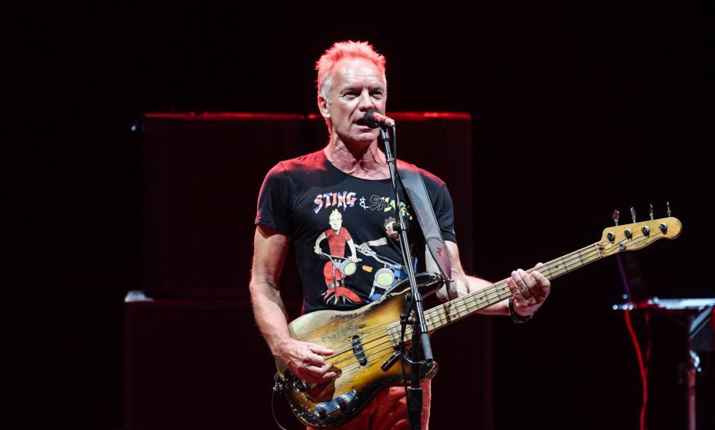 Sting publicó nuevas versiones de tres de sus clásicos