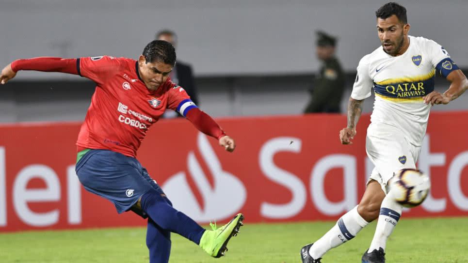 Boca empato con Jorge Wilstermann en su debut en la Copa Libertadores