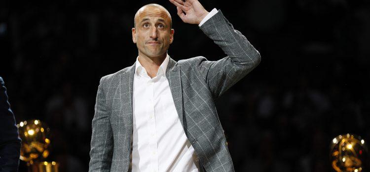 San Antonio Spurs retiró la camiseta número 20 de Manu Ginóbili