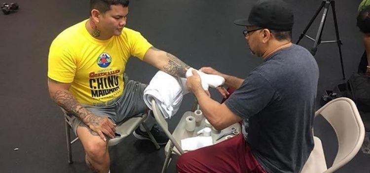 Marcos Maidana ya se entrena en Las Vegas y se conoció su primer rival