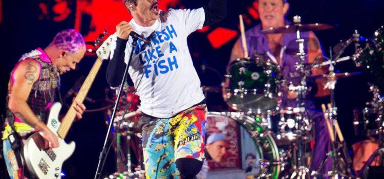 Red Hot Chili Peppers transmitirá su show en las Pirámides por YouTube
