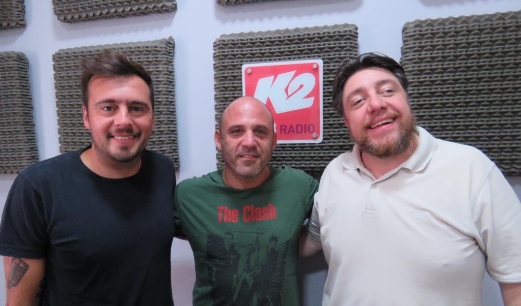 Edu Schmidt estuvo en Segundos Afuera y dio una muestra de su show en La Sardiñola