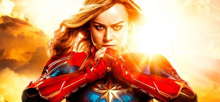 Captain Marvel sigue destrozando la taquilla