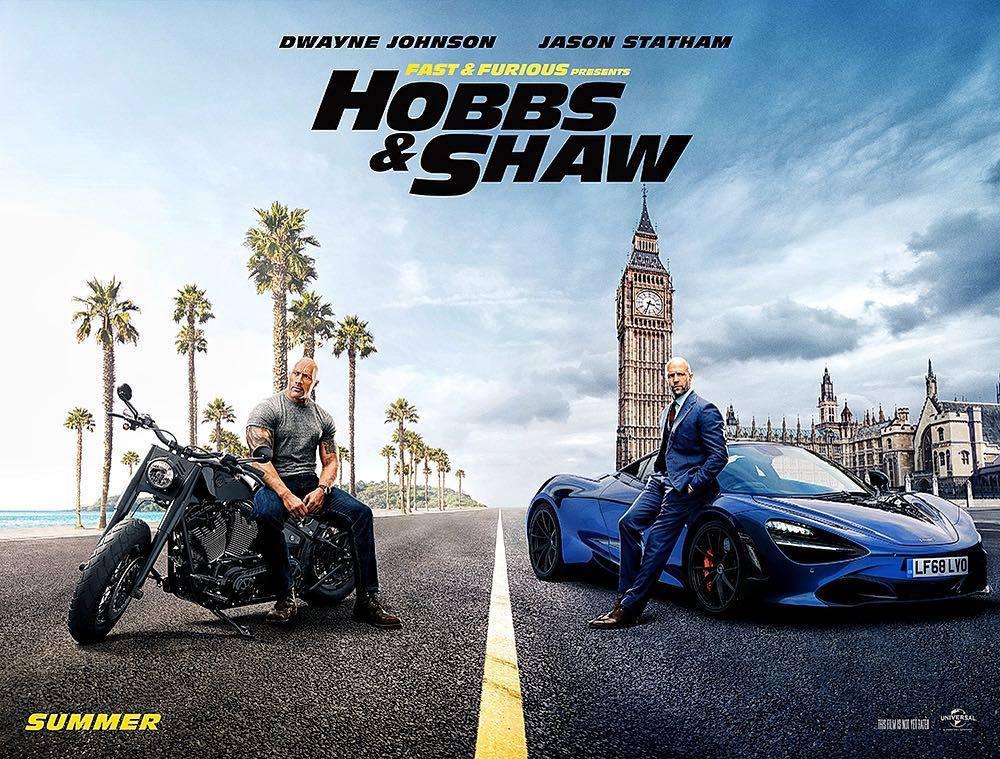 Hobbs and Shaw estrena un nuevo trailer completo