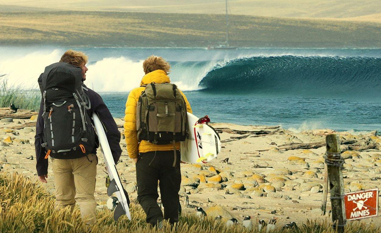 """""""La Ola sin Fronteras"""", la experiencia de Los Gauchos del Mar en Malvinas"""