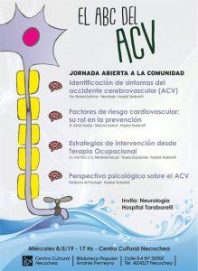 El ABC del ACV @ pin Hospital Subzonal Especializado Neuropsiquiátrico Taraborelli