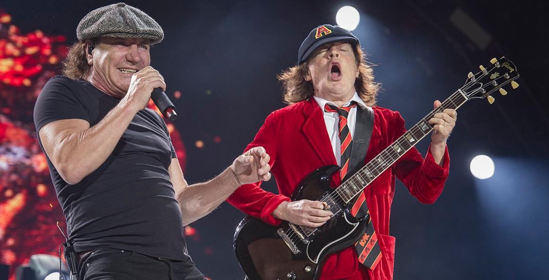AC/DC está en el estudio de grabación