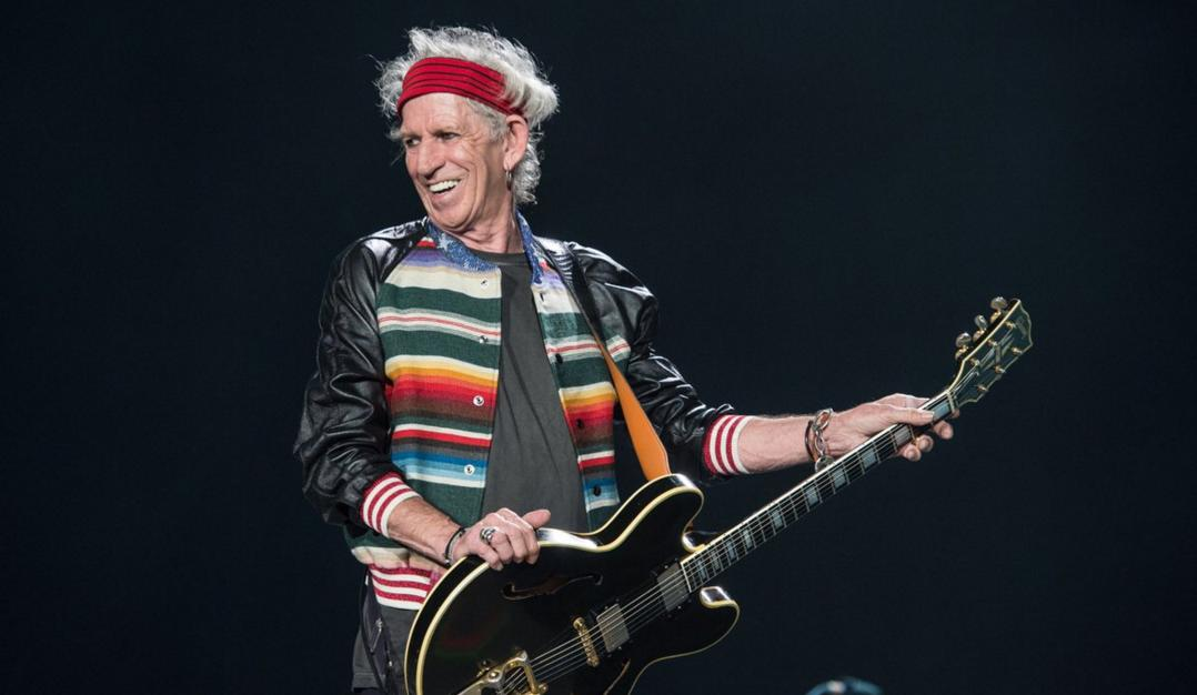 Keith Richards relanzó Talk Is Cheap