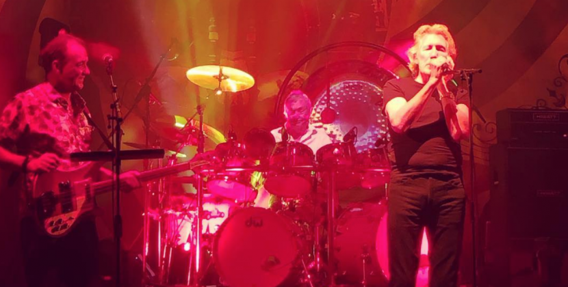 "Nick Mason y Roger Waters tocaron juntos ""Set The Controls For The Heart Of The Sun"""