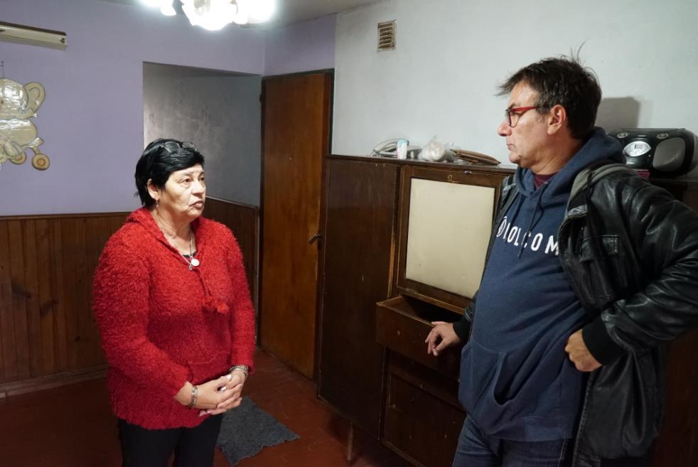 Actitud Solidaria: visitamos el comedor del barrio General San Martín