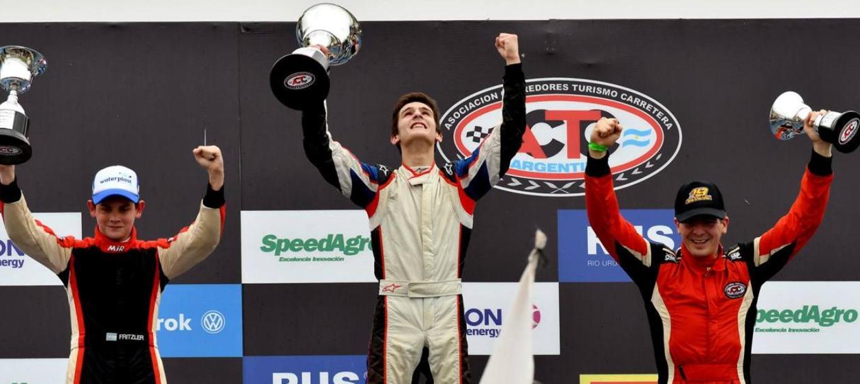 Marcos Castro dio sus sensaciones tras ganar su primera carrera en el TC Pista Mouras