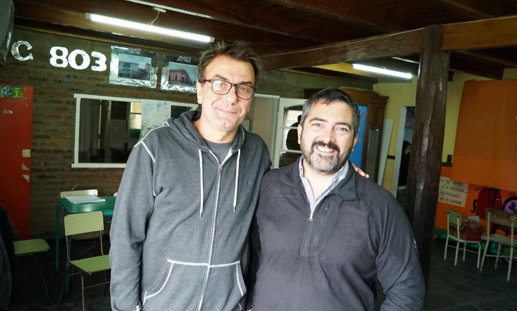 Actitud Solidaria: visitamos el C.E.C Nº 803 de Quequén