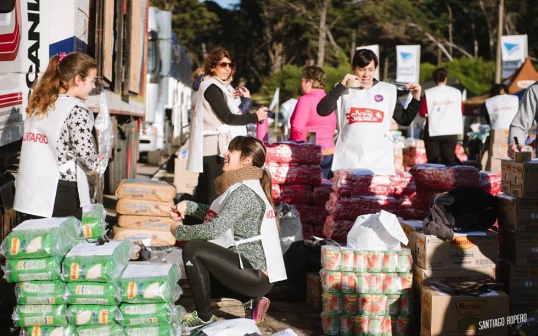 Actitud Solidaria: se podrán donar alimentos en cuatro supermercados