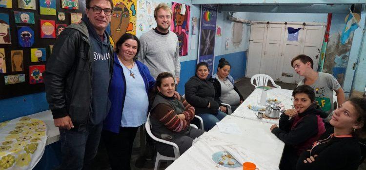 Actitud Solidaria: Visitamos el comedor «Solidaridad en Marcha»